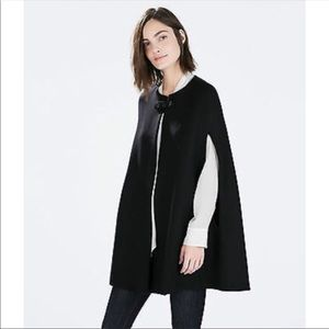 Zara Woman Winter Cape
